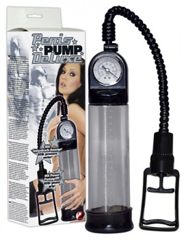 Penis-Pumpe Deluxe mit Power Pumpgriff